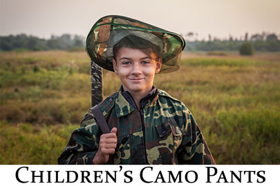 Camo Pants - Children's
