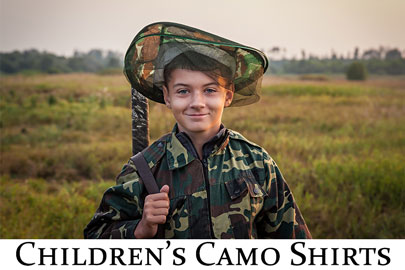 Camo Shirts - Children's