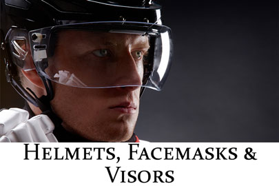 Helmets, Facemasks & Visors