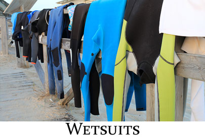 Wetsuits & Neoprene Clothing